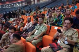 Bupati Rupinus dan Forkopimda hadiri rakornas Indonesia maju di Sentul