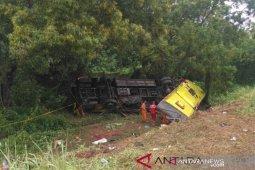 Kecelakaan maut di Tol Cipali diduga akibat sopir mengantuk