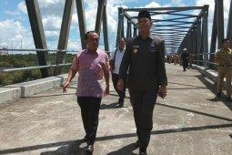 Kalbar - Kalteng bangun jembatan penghubung di Sukamara