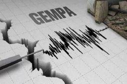 Gempa 5,2 Magnitudo terjadi di Kabupaten Bolmong Selatan