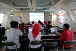 PMI Sulteng beri pelatihan tingkatkan kapasitas relawan mengelola data