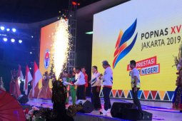 Menpora resmi membuka POPNAS XV 2019