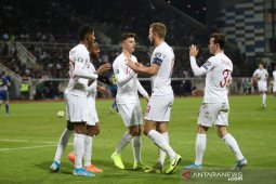 Inggris tutup kualifikasi Piala Eropa 2020 dengan  kalahkan Kosovo 4-0