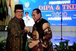 Gubernur Sumatera Utara minta tender proyek pembangunan fisik dipercepat