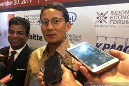 Sandiaga Uno sebut tak ada tawaran dari Erick Thohir masuk ke BUMN