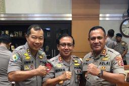 Kapolda Jambi ikut Raker dengan Komisi III DPR RI