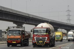 Jembatan tol layang terpanjang di Indonesia siap dioperasikan