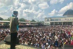 Ribuan warga Labuhanbatu Selatan padati ceramah UAS