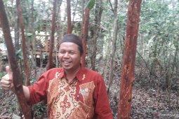 Warga Desa Namang bangun kawasan wisata Jembatan Pengantin