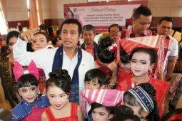 68 peserta ramaikan fashion show Hari Ulos di Pematangsiantar