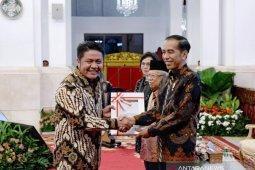 Pemprov Sumsel mendapat penghargaan Keterbukaan Informasi Publik