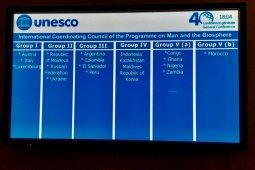 Indonesia anggota Dewan Biosfer Dunia UNESCO