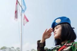 Meilinda, gadis penjaga perdamaian di Lebanon asal Sekadau