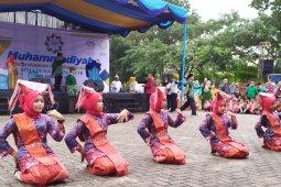 Atraksi seni budaya meriah Milad Ke 107 Muhammadiyah di Pematangsiantar
