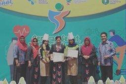 Aktif kampanye makan ikan, Forikan Sanggau raih penghargaan
