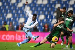 Berkat gol menit terakhir Caicedo, Lazio menang lima kali secara beruntun