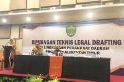 Pemprov Gelar Bimtek Legal Drafting Bagi Perangkat Daerah Kaltim