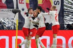 Liga Champions, Dwigol Emil Forsberg amankan Leipzig ke babak gugur