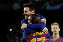 Liga Champions, Barcelona melenggang ke 16 besar usai lumat Dortmund 3-1