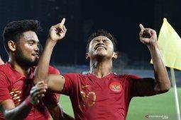 Sea Games, Timnas U-22 Indonesia rebut puncak Grup B usai tundukkan Singapura 2-0