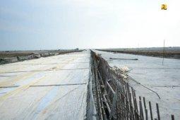 Menteri PUPR: Konstruksi layang tol Pelabuhan Patimban lindungi areal sawah
