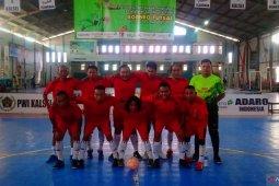 Tim Futsal Wartawan Polda Kalsel gilas lawan di penyisihan