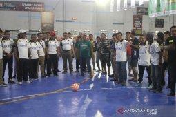 Pembukaan Turnamen Futsal Antar Desk