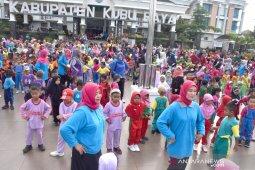Ribuan murid Kubu Raya meriahkan Gebyar PAUD 2019