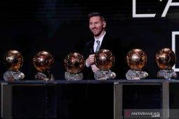 Lionel Messi akui terganggu ketika Ronaldo samai rekor Ballon d'Or