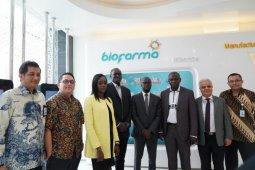 Institut asal Senegal menimba ilmu bioteknologi dari Biofarma