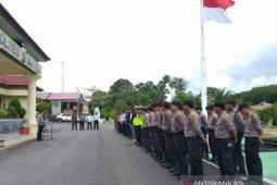 Kunjungan empat menteri, Polres Bangka Selatan berlakukan pengamanan VVIP