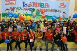 Alfamart tingkatkan kreativitas anak-anak di Gorontalo