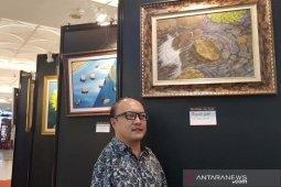 Pelukis Sabar Subadri menolak disebut penyandang disabilitas