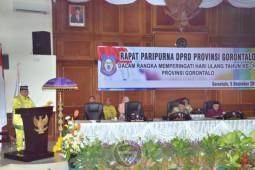DPRD gelar paripurna HUT ke-19 Provinsi Gorontalo