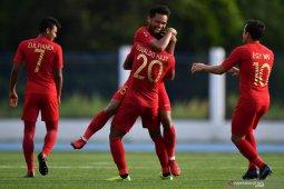 Tundukkan Laos 4-0, Timnas Indonesia amankan tiket semifinal