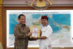 Gubernur lobi Mendagri-Menkumham untuk golkan RUU Provinsi Bali
