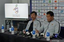 Timnas Indonesia sementara unggul 2 - 0 atas Myanmar