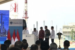 Jokowi upbeat about Indonesia exporting petrochemical products