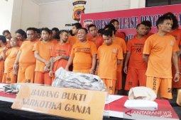 Bogor police apprehend 51 drug lords, dealers within 10 days