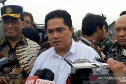 Erick Thohir akan gelar rapat dengan Komisaris Garuda besok