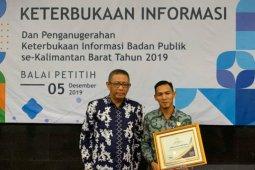 Bawaslu Kota Pontianak raih penghargaan Komisi Informasi Publik