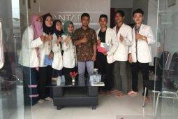 Mahasiswa UIN Banten pelajari sejarah Kantor Berita Antara