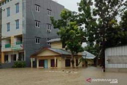 Banjir di Belitung menimbulkan genangan hingga 1,5 meter