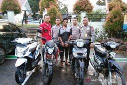 Curi sepeda motor, Gondrong pria mocok-mocok diamankan Polsek Batang Toru