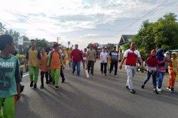Ratusan warga Mukomuko ikuti jalan sehat
