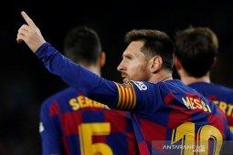 Barcelona dan Madrid bergantian pimpin puncak klasemen Liga Spanyol