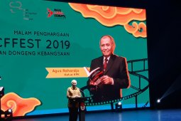 Wapres Ma'ruf wakili Presiden hadiri puncak peringatan Hakordia 2019