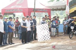 Wakil Bupati HSS buka kejurprov balap sepeda BMX se Kalsel