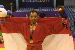 Atlet Sambo Pontianak bangga persembahkan emas  SEA Games