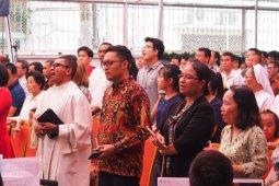 Warga Indonesia di Vietnam merayakan Natal di KJRI Ho Chi Minh City